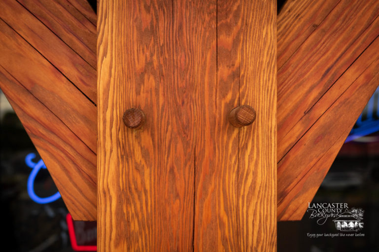 double wood joinery