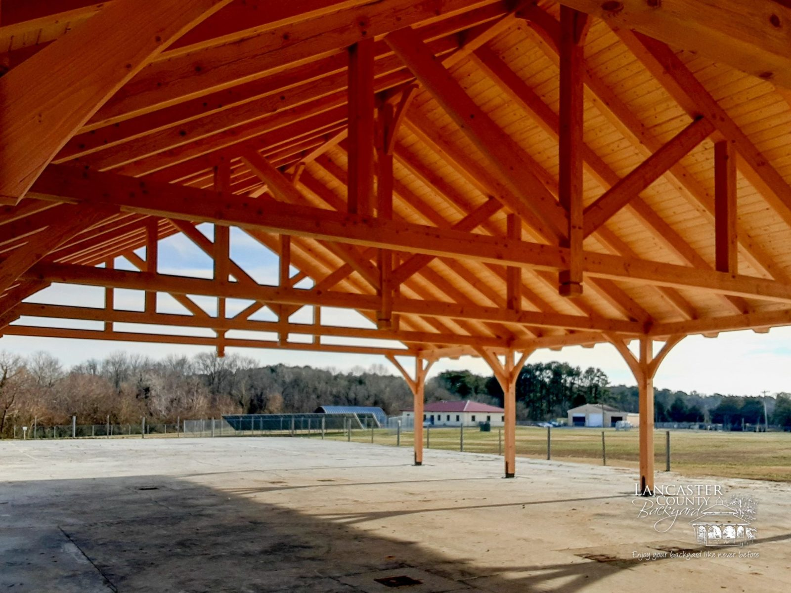 40x80 timber frame pavilion