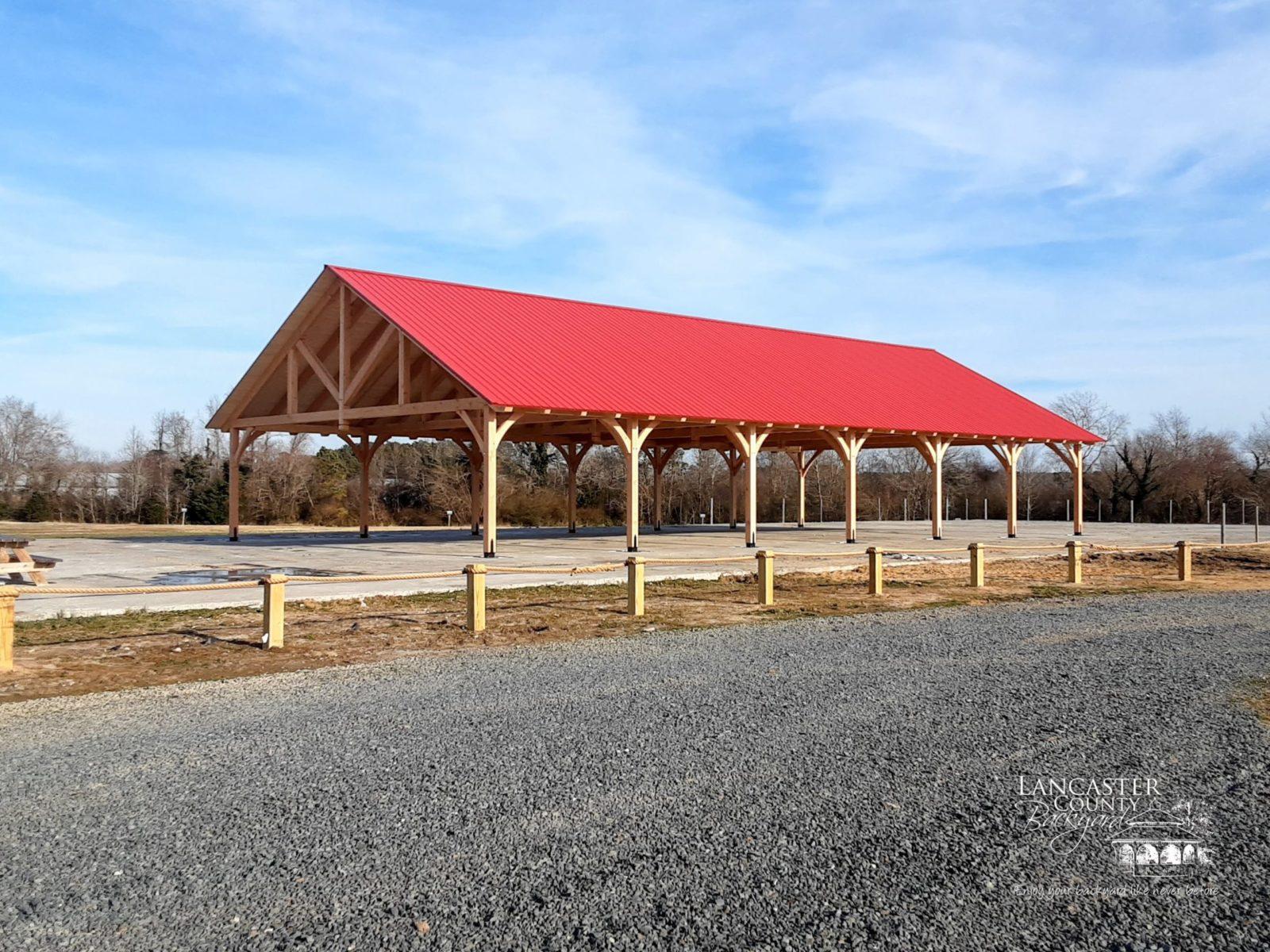 40x80 timber frame