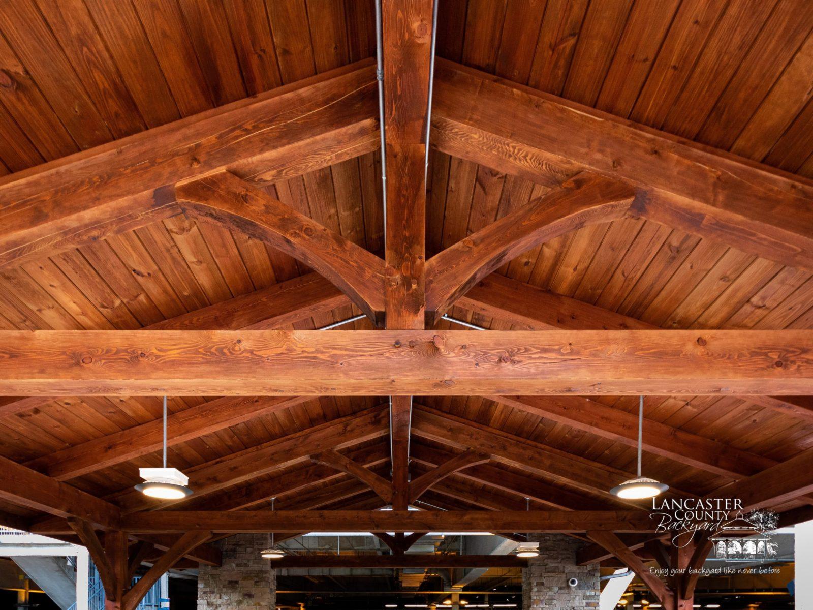 allentown casino pavilion timber frame