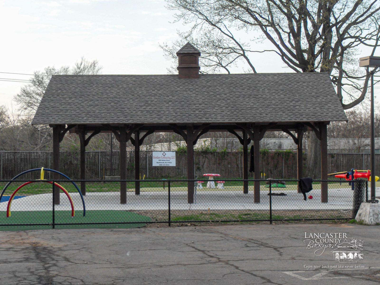 20x32 denali timber frame pavilion for daycare