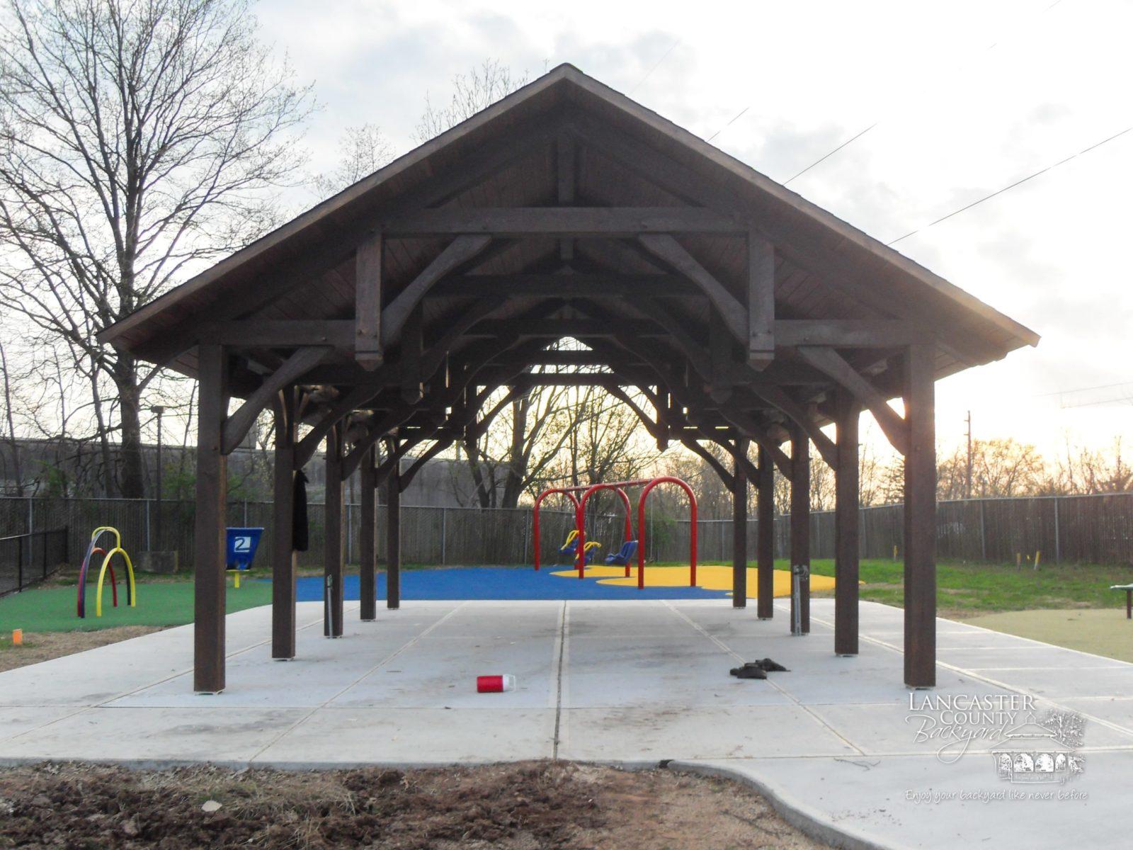 20x32 denali timber frame pavilion daycare