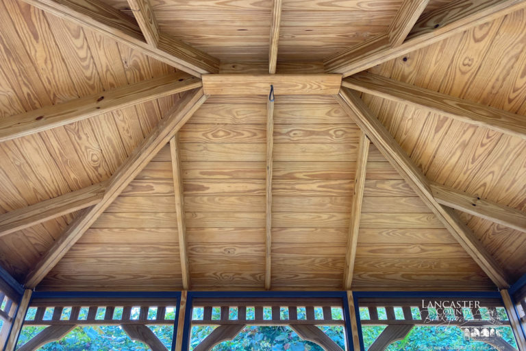 10x12 Wooden Rectangle Gazebo