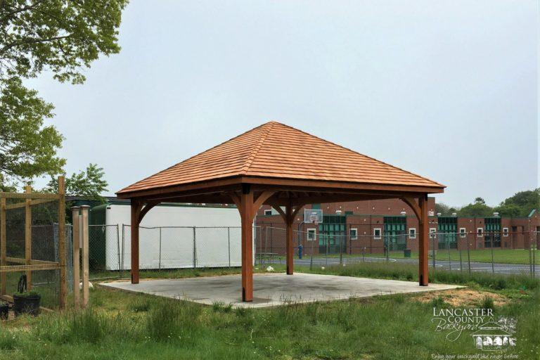 20x20 Cheyenne Wood Pavilion