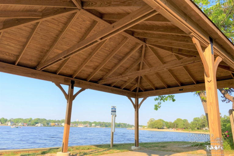 16x24 wooden pavilion