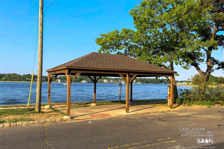 wooden 16x24 pavilion