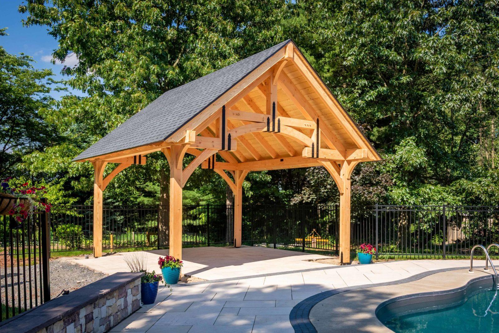 timber frame pavilion kits