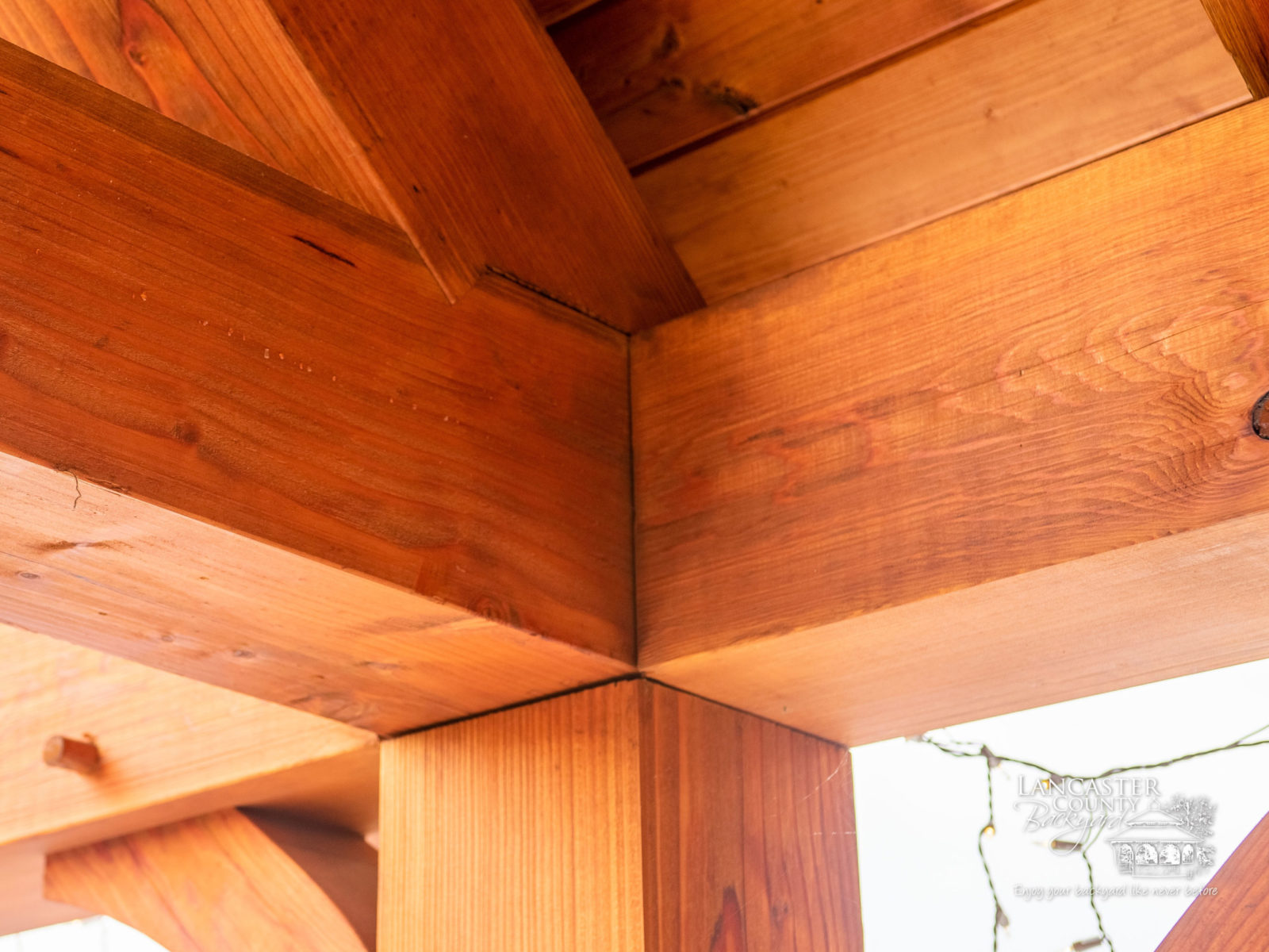 timber frame outdoor pavilion construction