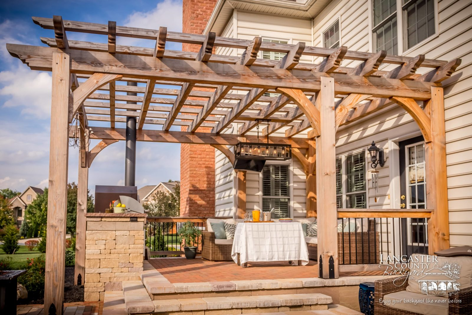 what is the purpose of a pergola near me