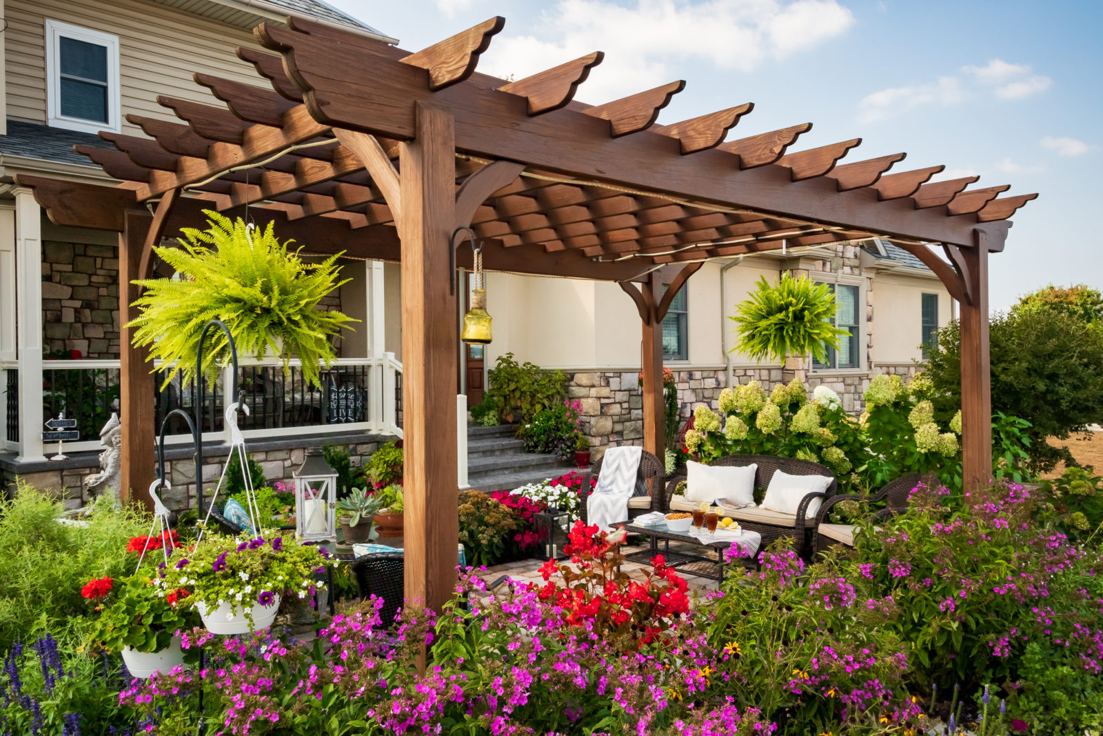 what is a the purpose of a pergola