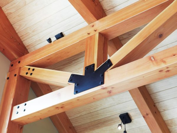 post and beam timer frame
