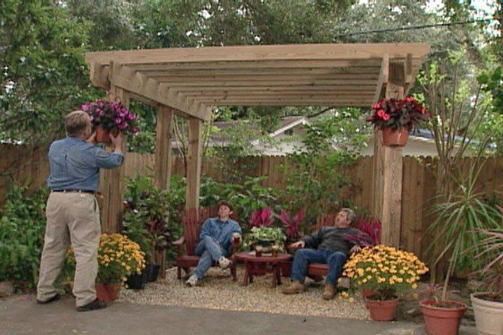 freestanding garden pergola ideas in pa