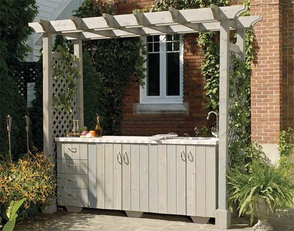 kitchen garden pergola ideas near me pa