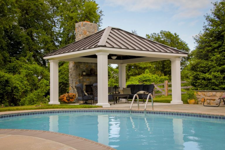 design ideas for poolhouse pavilion gazebo in lancaster pa