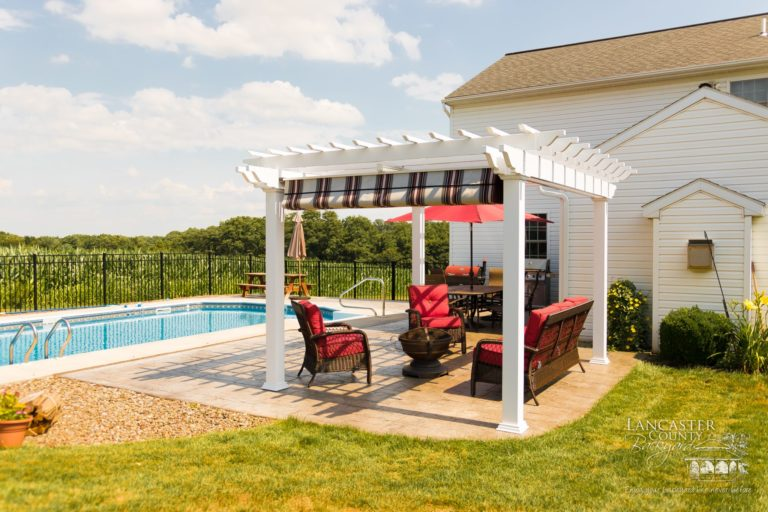 pool side perogla shelter designed by amish in lancaster county (1)