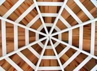 backyard gazebo ceiling1