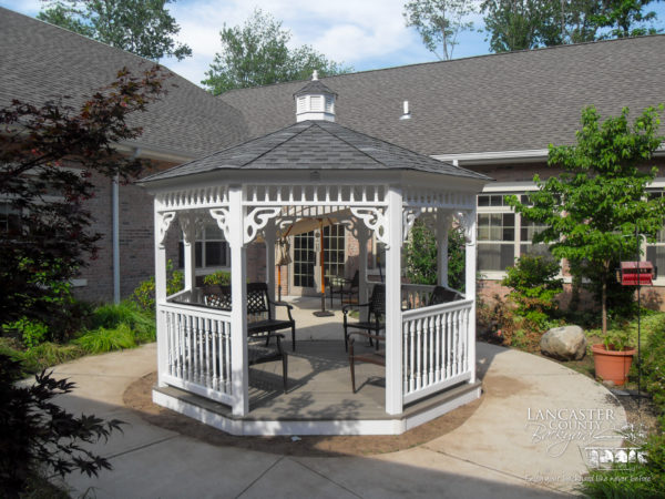 amish patio gazebo