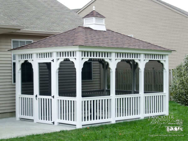 vinyl patio gazebo