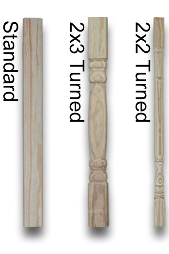 wood gazebo balusters