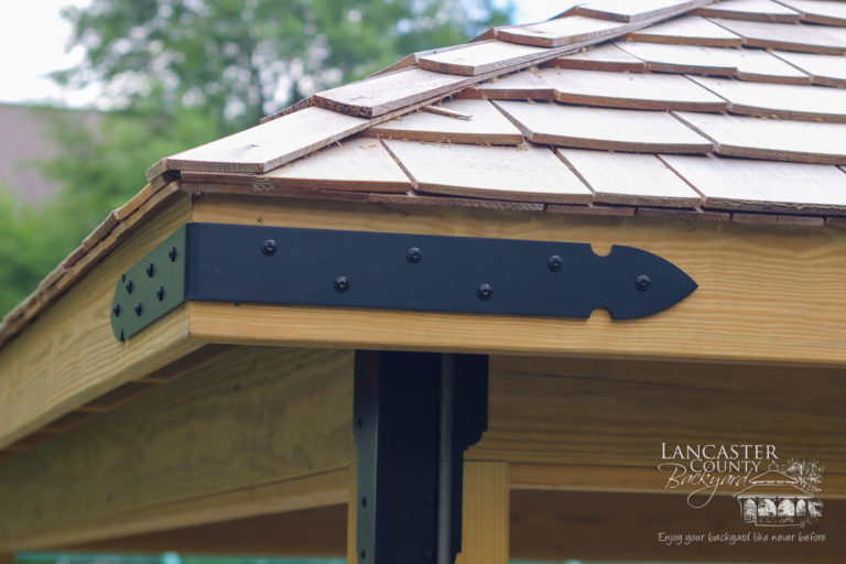 20x20 Wooden Commercial Pavilion