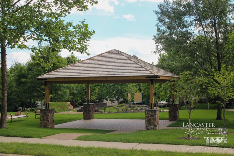 20x20 Wood Pavilion