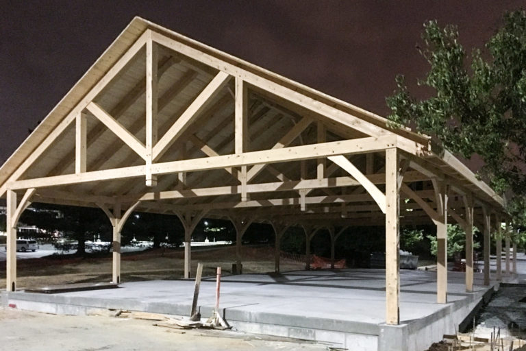 40x80 large commercial pavilion