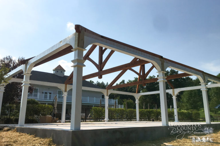 30x45 montford with timber frame trusses