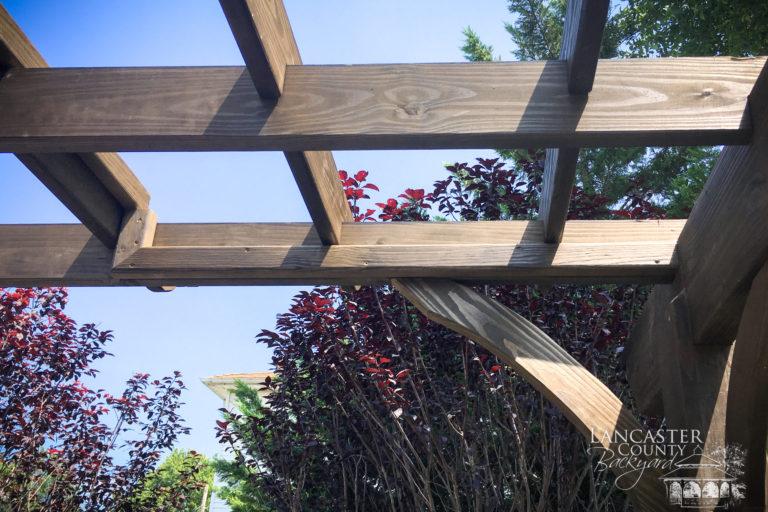 10x12 Wooden Pergola