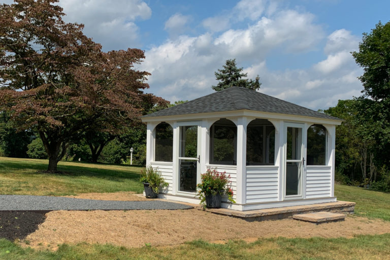 rectangular portable gazebo outside for quality family time