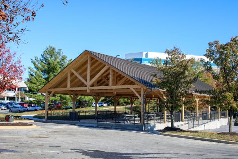 large park pavilion