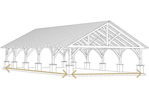 kingston timber size