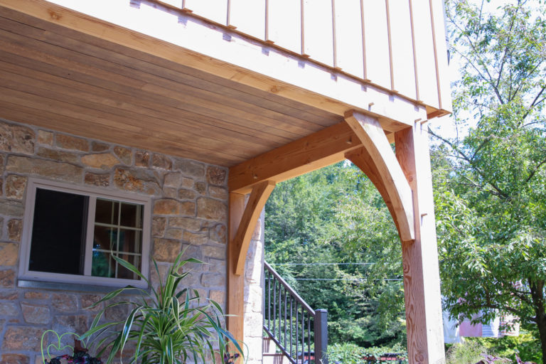 narvon run construction timber frame pavilion