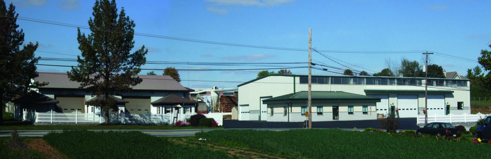 location of amish pavilions manufacturer
