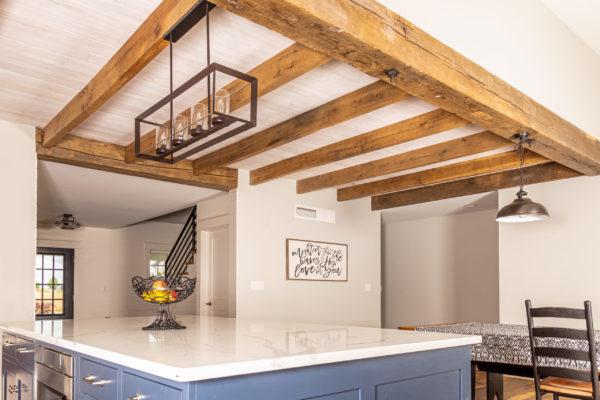 timber frame construction for interior design